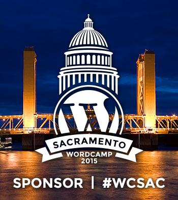 WordCamp Sacramento 2015 Sponsor