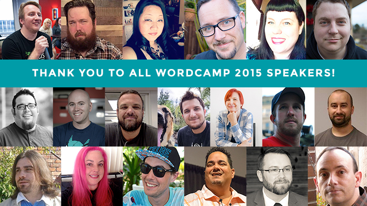 2015 WordCamp Sacramento Speakers