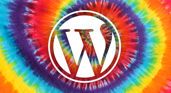 Peace Love WordPress