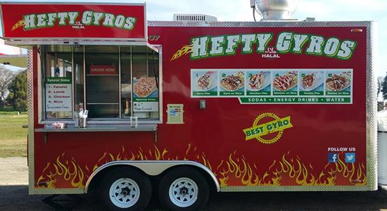 Hefty Gyros Food Truck