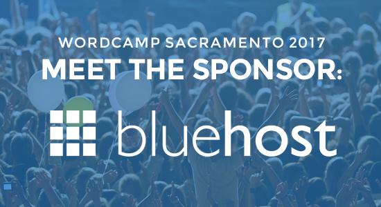 WordCamp Sponsor Bluehost